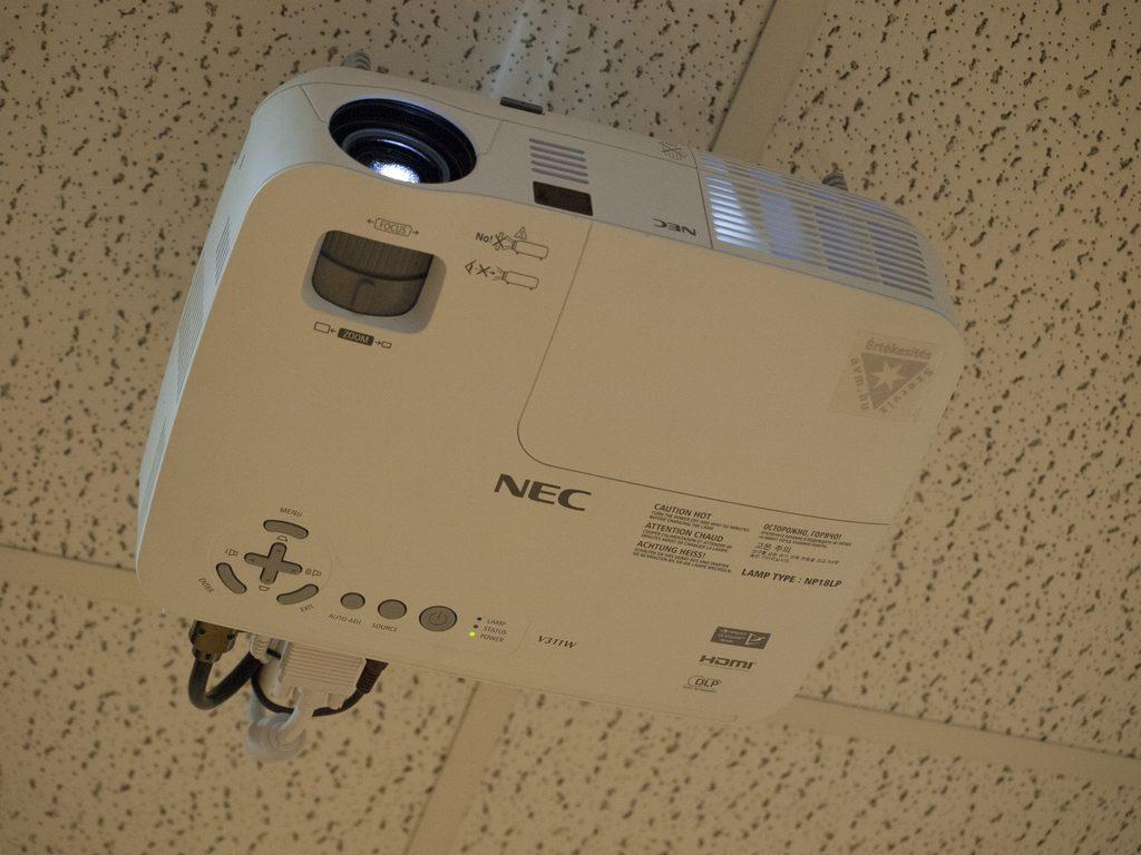 NEC-projektor